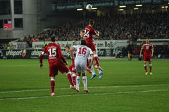 1FC Kaiserslautern i 1FC Koln Zdjęcie Stock