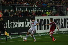 1FC Kaiserslautern i 1FC Koln Obraz Stock