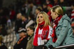 FC Kaiserslautern och 1FC Koln Arkivfoto