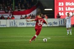1 FC Kaiserslautern och 1FC Koln Royaltyfria Bilder