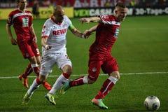 1FC Kaiserslautern och 1FC Koln Arkivbild