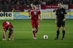 1FC Kaiserslautern och 1FC Koln Royaltyfria Bilder