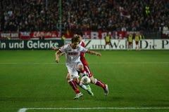 1FC Kaiserslautern och 1FC Koln Royaltyfri Bild