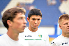 FC Karpaty football players Royalty Free Stock Photography