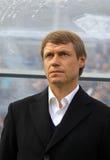 FC Karpaty Lviv manager Oleh Kononov Royalty Free Stock Image