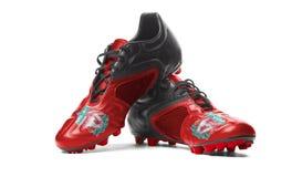FC Liverpool - futbol buty Fotografia Royalty Free