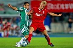 fc Liverpool gwałtowny sk vs obraz royalty free