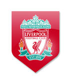 Fc liverpool. Liverpool premier league team on white Stock Photography