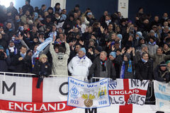 FC Manchester City supporters Stock Photo