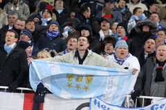 FC Manchester City supporters Stock Image