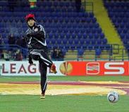 FC Metalist Bayer Kharkiv - 04 Leverkusen Zdjęcie Royalty Free