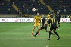 FC Metalist contre le match de football de PFC Oleksandria Photographie stock libre de droits
