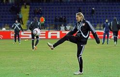FC Metalist Kharkiv - Bayer 04 Λεβερκούζεν Στοκ Εικόνες