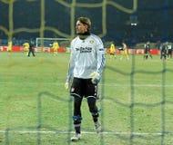 FC Metalist Kharkiv - Bayer 04 Leverkusen Imagem de Stock Royalty Free