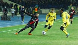 FC Metalist Kharkiv - Bayer 04 Leverkusen Stockbilder