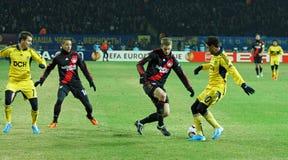 FC Metalist Kharkiv - Bayer 04 Leverkusen Imagens de Stock