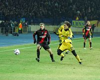 FC Metalist Kharkiv - Bayer 04 Leverkusen Stock Photography