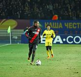 FC Metalist Kharkiv - Bayer 04 Leverkusen Stockfotos