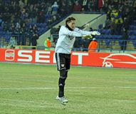 FC Metalist Kharkiv - Bayer 04 Leverkusen Fotografia de Stock