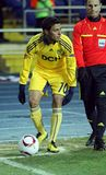 FC Metalist Kharkiv - Bayer 04 Leverkusen Royalty Free Stock Images