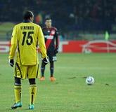 FC Metalist Kharkiv - Bayer 04 Leverkusen Fotos de Stock