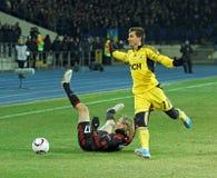 FC Metalist Kharkiv - Bayer 04 Leverkusen Lizenzfreies Stockbild