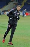FC Metalist Kharkiv - Bayer 04 Leverkusen Immagine Stock