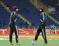 FC Metalist Kharkiv - Bayer 04 Leverkusen Immagini Stock Libere da Diritti