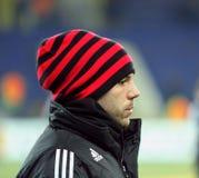 FC Metalist Kharkiv - Bayer 04 Leverkusen Stock Afbeelding