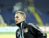 FC Metalist Kharkiv - Bayer 04 Leverkusen Stock Foto's
