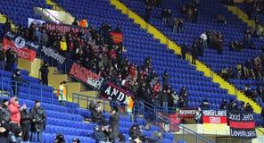 FC Metalist Kharkiv - Bayer 04 Leverkusen Arkivbild