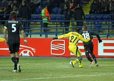 FC Metalist Kharkiv - Bayer 04 Leverkusen Stock Photo