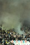 FC Metalist Kharkiv fans Stock Photo