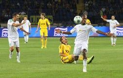FC Metalist Kharkiv vs AC Omonia Nicosia match Stock Images