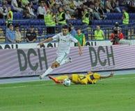 FC Metalist Kharkiv vs AC Omonia Nicosia match Stock Photos