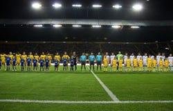 FC Metalist Kharkiv vs. FC Dynamo Kyiv Stock Images
