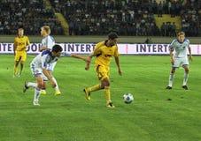 FC Metalist Kharkiv vs. FC Dynamo Kyiv Stock Photography