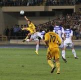 FC Metalist Kharkiv vs. FC Dynamo Kyiv Royalty Free Stock Image