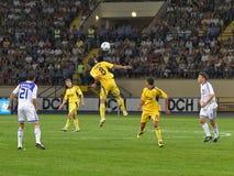 FC Metalist Kharkiv vs. FC Dynamo Kyiv Royalty Free Stock Photography