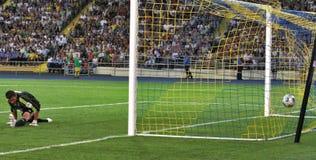 FC Metalist Kharkiv vs. FC Dynamo Kyiv Royalty Free Stock Photo
