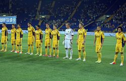 FC Metalist vs FC Illichivets soccer match Stock Photo