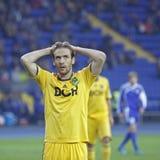 FC Metalist vs FC Ilyichevets (3:1) soccer match Stock Photography