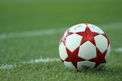 FC Metalist vs PFC Oleksandria football match Stock Photography