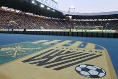 FC Metalist vs PFC Oleksandria football match Royalty Free Stock Photos
