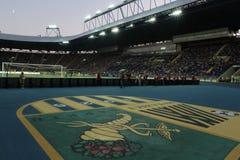FC Metalist vs PFC Oleksandria football match Stock Photo