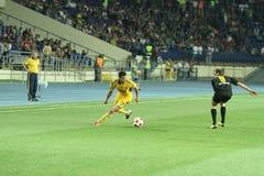 FC Metalist vs PFC Oleksandria football match Stock Photos
