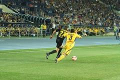 FC Metalist vs PFC Oleksandria football match Royalty Free Stock Photo