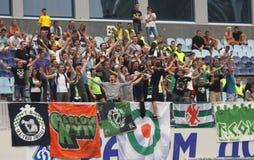 FC Obolon supporters Stock Image