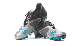 FC Olympique de Marseille - futbol buty Zdjęcie Stock