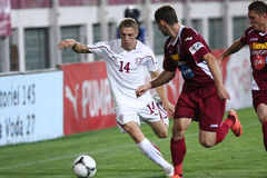 FC Rapid Bucharest-CFR Cluj Royalty Free Stock Image